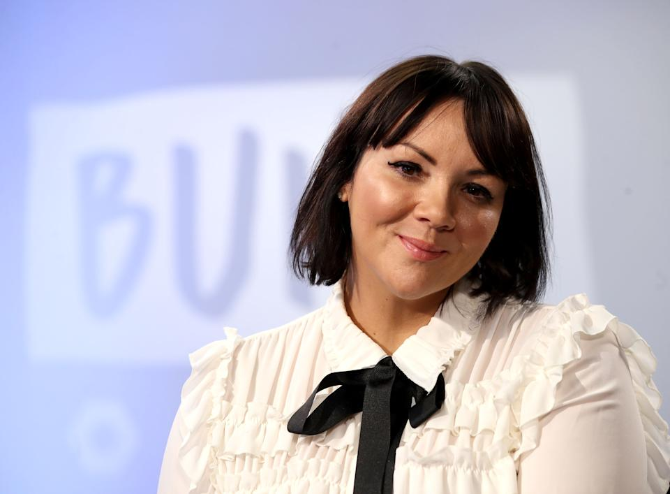 Martine McCutcheon during a Build panel discussion on November 29, 2017. (Photo by Mike Marsland/WireImage)