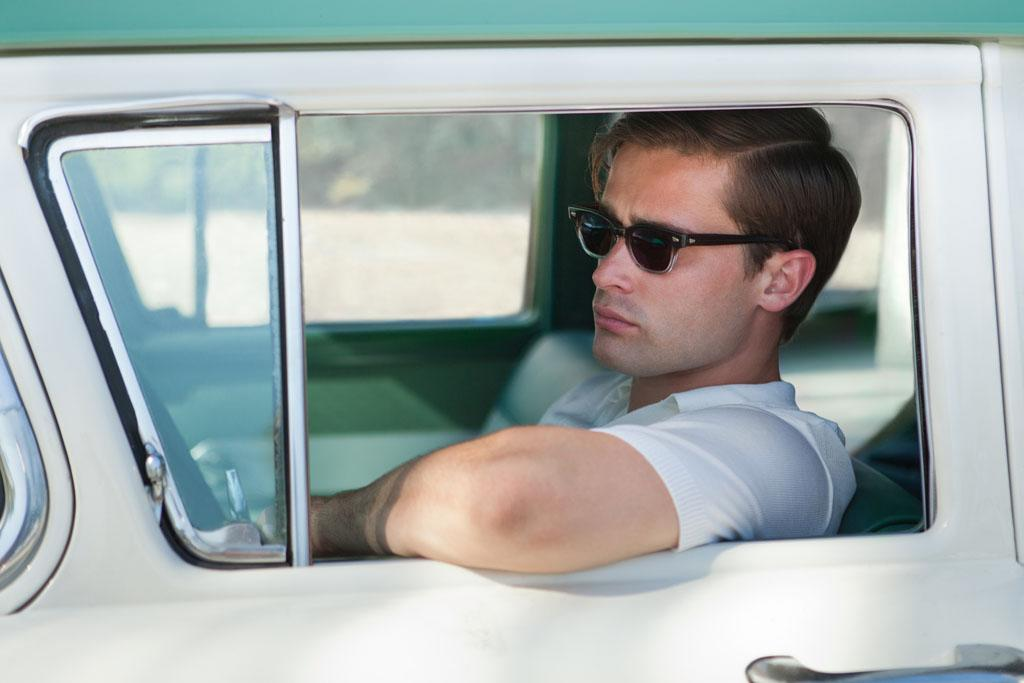"Christian Cooke as Danny Evans in ""Magic City"" Season 2."