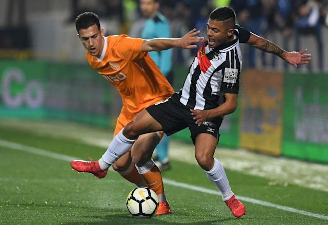 Manchester United have strengthened their defence with Porto's Diogo Dalot, pictured on the left (AFP Photo/Francisco LEONG)