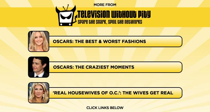"<b>More at <a href=""http://www.televisionwithoutpity/"" rel=""nofollow"">Television Without Pity</a></b>: <a href=""http://www.televisionwithoutpity.com/show/award_shows/oscars_2011_best_and_worst_fas.php?__source=tw