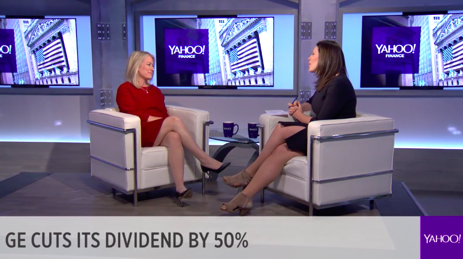 GE CFO Jamie Miller sits down with Yahoo Finance's Nicole Sinclair to talk about the company's investor day, dividend cut and new strategic focus