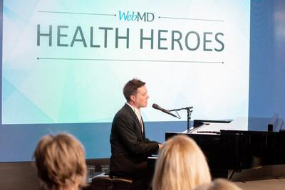 Rufus Wainwright performs at the 2019 WebMD Health Hero Awards event in New York City