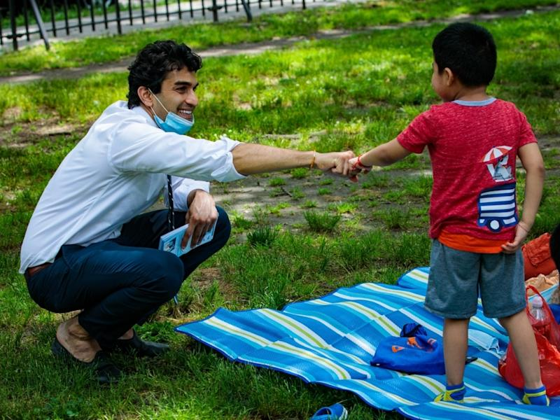 New York-12 challenger Suraj Patel is running against incumbent Carolyn Maloney again following a good showing in 2018.