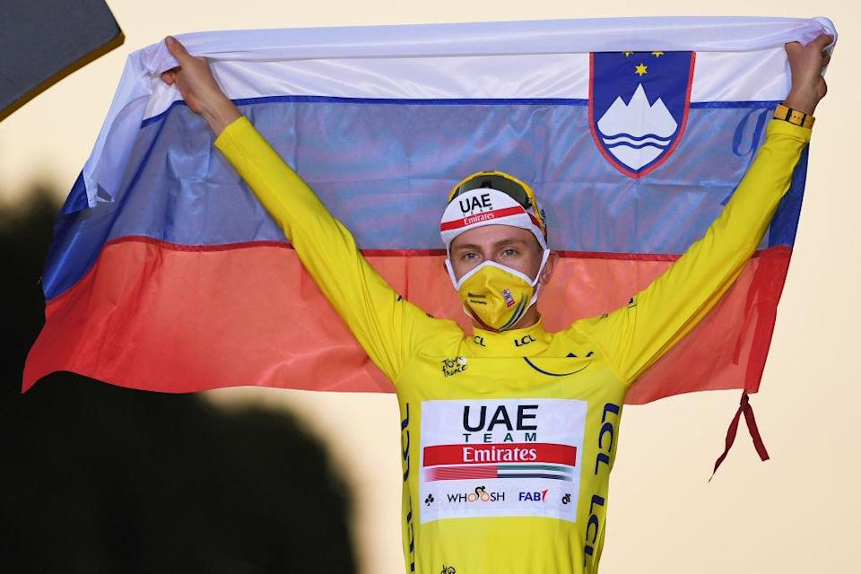 Slovenia's Tadej Pogačar came out on top at the rescheduled 2020 Tour de France