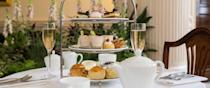"<p>Soak up a helping of history as you tuck in at The Pump Room, the restaurant attached to The Roman Baths. You'll be served a delicate slice of opera cake, the lightest macaroons and a fruit tart alongside the scones and sandwiches. It costs £22.50 per person. </p><p><b><a rel=""nofollow noopener"" href=""http://www.romanbaths.co.uk/pump-room-restaurant"" target=""_blank"" data-ylk=""slk:Romanbaths.co.uk/pump-room-restaurant"" class=""link rapid-noclick-resp"">Romanbaths.co.uk/pump-room-restaurant</a></b></p>"