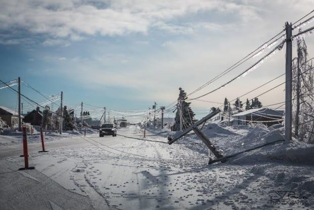 An ice storm that hit the Acadian Peninsula in 2017 downed dozens of power lines and cost NB Power a record-setting $30 million in cleanup expenses.