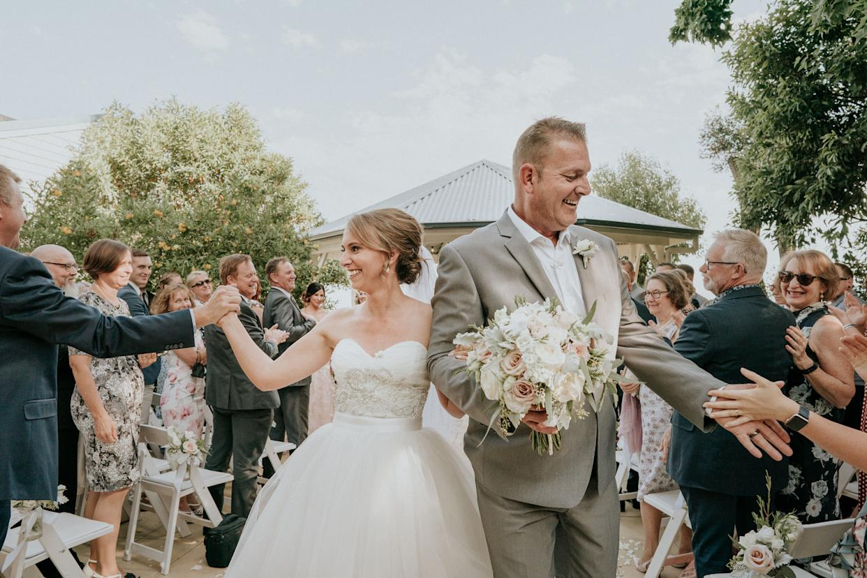 """Steph Agnew has gradually lost most of her vision&nbsp;since being diagnosed with a retinal condition 13 years ago. (Photo: <a href=""""https://www.jamesday.com.au/"""" rel=""""nofollow noopener"""" target=""""_blank"""" data-ylk=""""slk:James Day Photography"""" class=""""link rapid-noclick-resp"""">James Day Photography</a>)"""