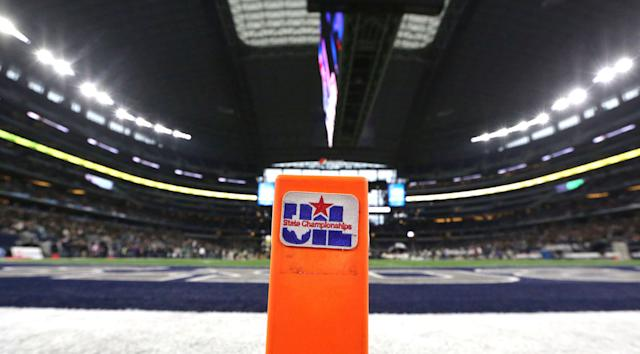 A prominent Texas high school football official has been suspended for using racial slurs. (AP Photo/LM Otero)