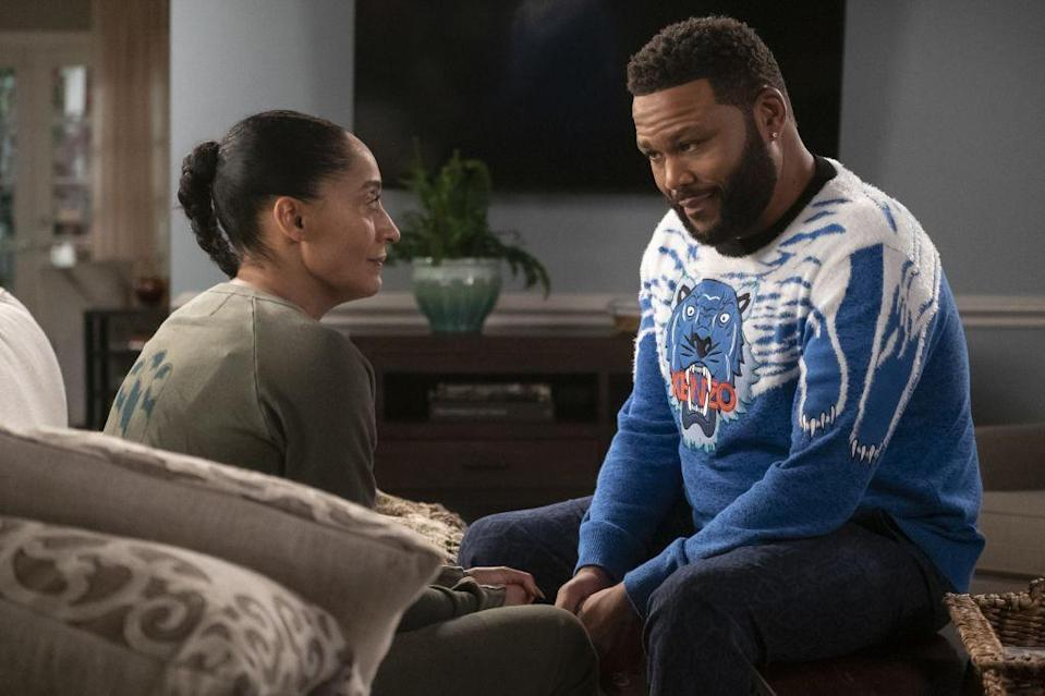 <p>The Anthony Anderson and Tracee Ellis Ross single-camera series will be back on ABC–this time with a baby in the house–for season seven in the fall of 2020 (tentatively). The fan-favorite has two spinoffs, <em>Grown-ish</em> and <em>Mixed-ish</em>, both of which have received renewals for seasons four and two, respectively.</p>