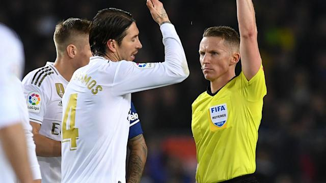 Los Blancos had two early penalty shouts against Barcelona waved away and their veteran defender is adamant VAR should have intervened