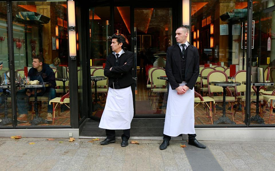 The rude French waiter trope endures - Getty