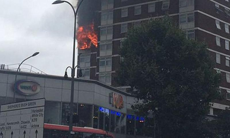 Although nobody was killed in the Shepherds Bush fire, more than 100 families had to be evacuated.