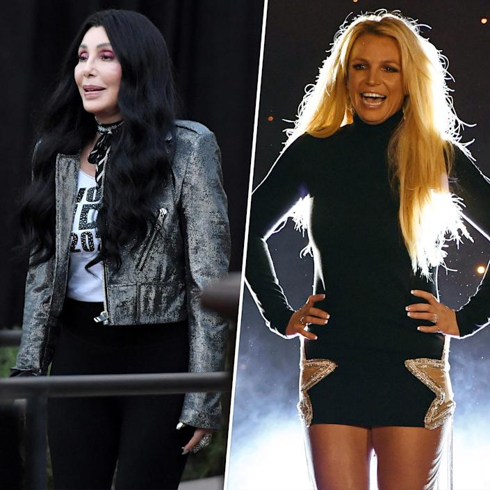 Might Cher and Britney Spears actually hit the beach together someday? (Getty Images)