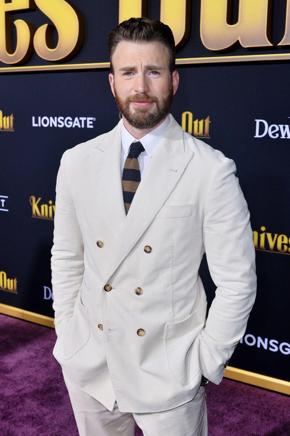 "<p>For a man who's a part of one of the most popular superhero franchises, you'd think he'd been a host at least once. While it's sadly not the case, he does have an affinity for <a href=""https://www.indiewire.com/2019/01/chris-evans-rip-donald-trump-jr-saturday-night-live-flub-1202040211/"" rel=""nofollow noopener"" target=""_blank"" data-ylk=""slk:reacting"" class=""link rapid-noclick-resp"">reacting</a> to the show's sketches.</p>"