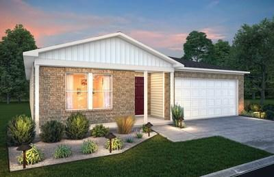 Plan 1612 at Landmark in New Castle, Indiana   New homes by Century Complete
