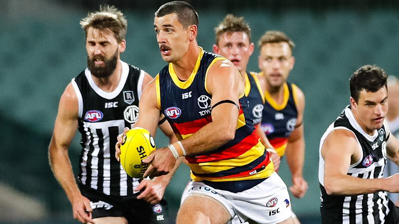 Taylor Walker, pictured here in action for Adelaide Crows.