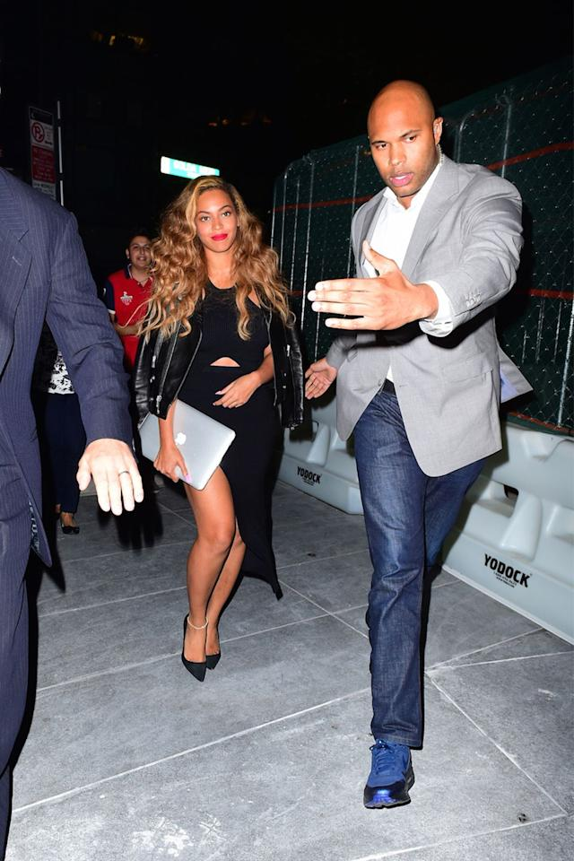 "<p>Beyoncé and Jay-Z keep a handful of bodyguards on staff at all times, but their longest-standing guard is also arguably the hottest. Julius de Boer has worked with the family since 2008 and in addition to being obscenely good looking, he also takes his job of protecting Queen Bey very seriously. ""Adaptability, in physical and psychological terms, is the main characteristic that you must possess,"" <a rel=""nofollow"" href=""https://variety.com/2011/music/news/security-pros-employ-more-brains-than-brawn-1118034935/"">he said when describing the job to <em>Variety</em> in 2011</a>.</p>"