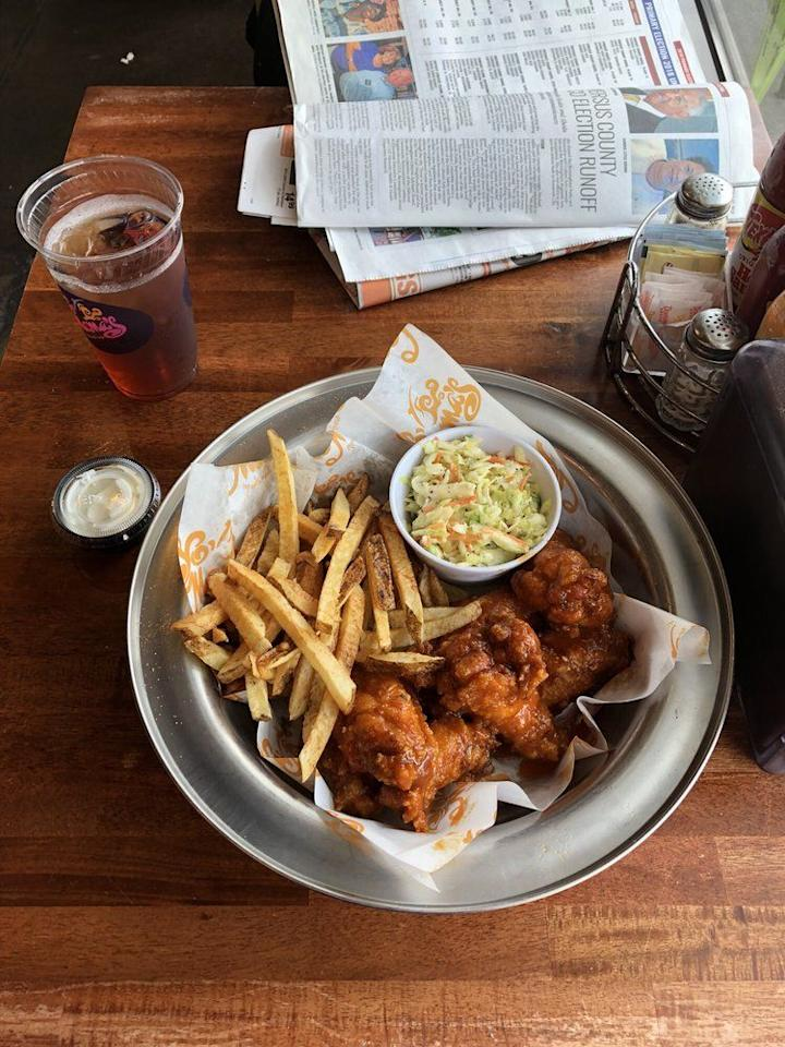 "<p>The smoked meats at <a href=""https://www.yomamasrestaurant.com"" target=""_blank"">Yo' Mama's</a> are delicious, but folks go crazy over the grits at this Alabama joint. </p><p><em><a href=""https://www.instagram.com/yomamasmeals/"" target=""_blank"">Check out Yo' Mama's on Instagram</a>.  </em></p>"