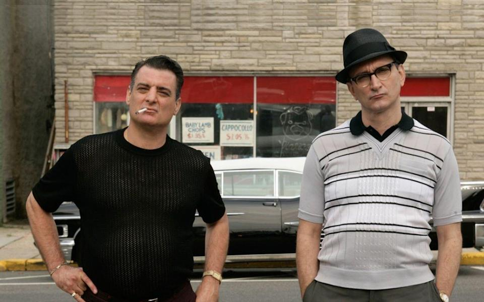 """<p>You might be thinking, """"hmm I don't recall the first <em>Saints of Newark.</em>"""" Yes, you do. Only it was called <em>The Sopranos</em>. Yep, this is a feature film prequel to the cult classic television show–and it's due out March 12, 2021. In a bit of life imitating art, Michael Gandolfini (son of James Gandolfini, the late star of the original series) plays the lead role of young Tony.</p>"""