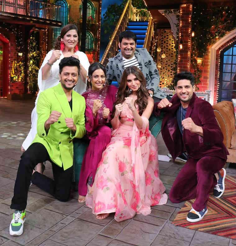 Riteish deshmukh and sidharth malhotra kapil sharma
