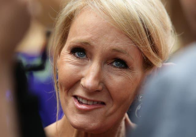 JK Rowling had supported Maya Forstater (Yui Mok/PA)