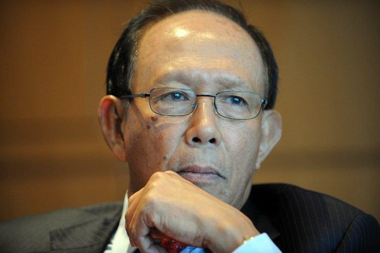Tun Musa Hitam said Umno needs to put aside its leaders who are facing criminal charges, until proven innocent, as a means to revitalise the party. — File pic