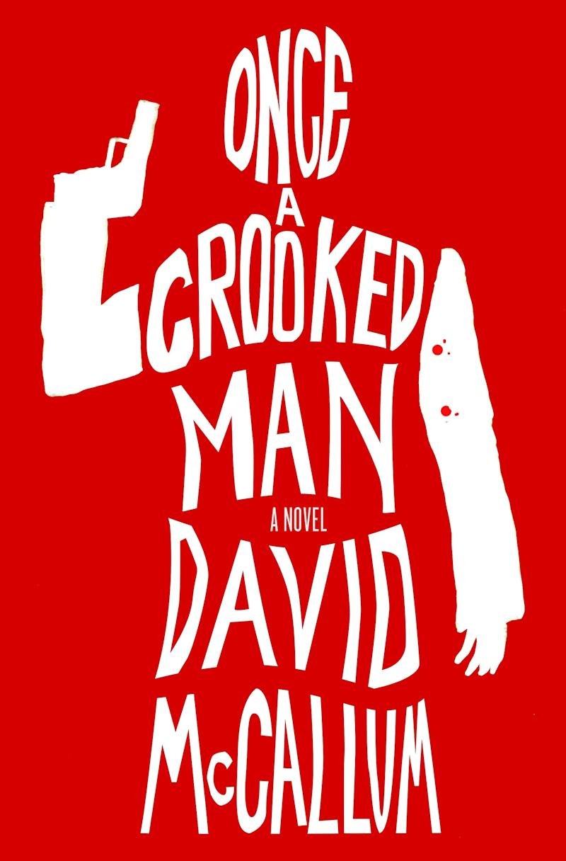 Image result for once a crooked man book cover