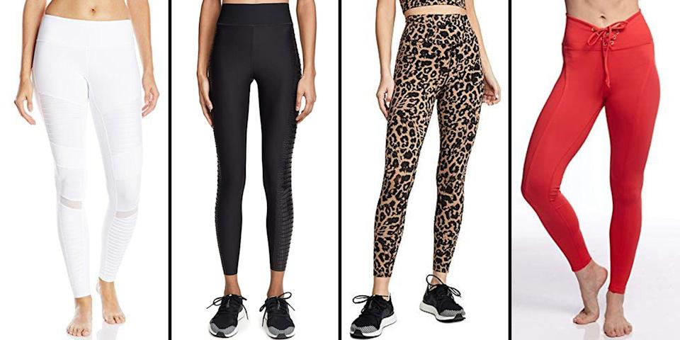<p>If you have not added a new pair of leggings to your activewear collection, now is the time. Impossible to resist during these months spent mostly at home, leggings have become the new office casual while most of us work from home. Comfortable yet put together, they're an ideal alternative to sweatpants. Whether you prefer compression, a strong fit, pops of color, or a high waist, we have narrowed down the market with a few favorite finds from Amazon—with the help of the site's robust customer reviews and ratings scale. Why Amazon, you ask? Because who doesn't love a pair of well-made leggings that hightails it from retailer to your rear in just two days?</p>
