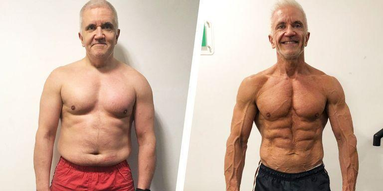"""<p>Yves Tigh, 55, was no stranger to the gym. However, the IT consultant never paid much attention to his diet. Although he cooked, Tigh ate little protein and frequently drank alcohol. This led him to steadily increase in size. Eventually, he weighed about 240 pounds.</p><p>After realizing he had high cholesterol, Tigh decided it was time to make a change.</p><p>He began training at <a href=""""https://ultimateperformance.com/?utm_source=Mens_Health&utm_medium=link&utm_campaign=Yves_Mens_Health_US_0819"""" rel=""""nofollow noopener"""" target=""""_blank"""" data-ylk=""""slk:Ultimate Performance"""" class=""""link rapid-noclick-resp""""><u>Ultimate Performance</u></a> in London, where he learned more about nutrition.</p><p>""""Diet for me was always an issue,"""" he told <em>Men's Health</em>. """"I thought I ate healthily, but was eating the wrong foods and always drank alcohol.""""</p><p><a href=""""https://www.menshealth.com/weight-loss/a28801008/weight-loss-bodybuilding-carb-cycling-transformation/"""" rel=""""nofollow noopener"""" target=""""_blank"""" data-ylk=""""slk:Read more about Yves' transformation."""" class=""""link rapid-noclick-resp"""">Read more about Yves' transformation. </a></p>"""