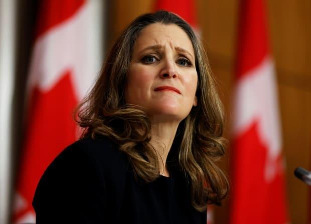 Deputy Prime Minister and Minister of Finance Chrystia Freeland tabled Bill C-25 in the House of Commons today.