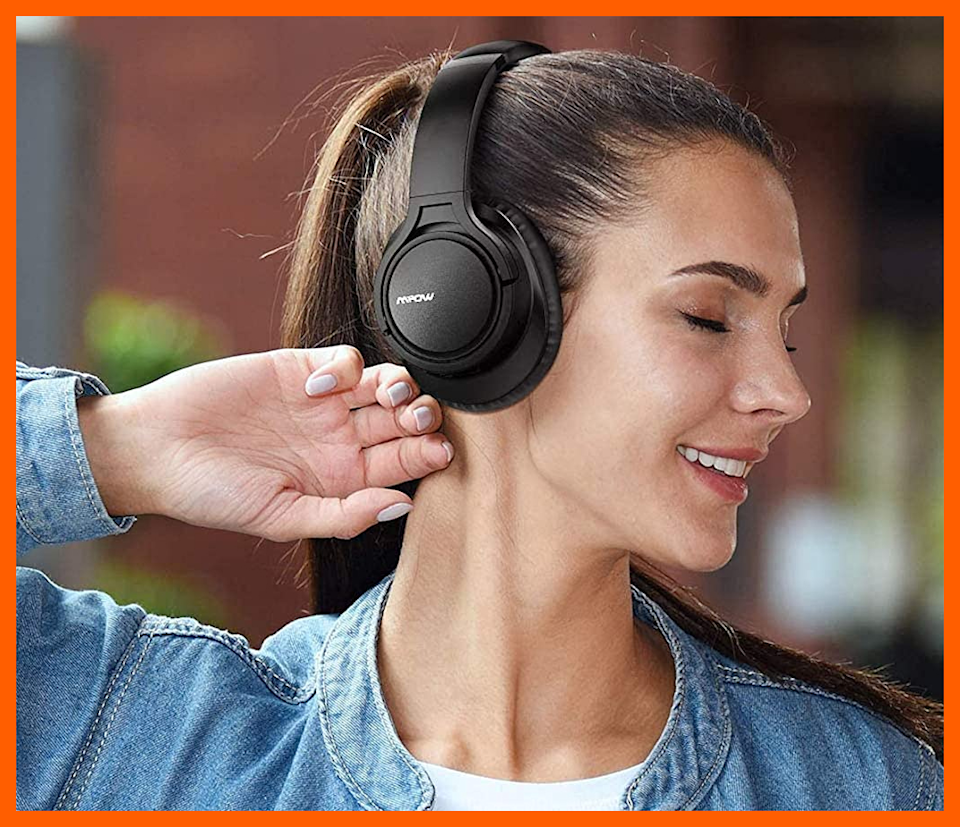 Listen up--this 30 percent markdown on Mpow's H7 Bluetooth Headphones won't last forever. (Photo: Amazon)