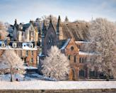 """<p>Welcome to Inverness and the snow-covered Ness Bank church<span class=""""redactor-invisible-space"""">.</span></p><p><span class=""""redactor-invisible-space""""><a class=""""link rapid-noclick-resp"""" href=""""https://www.countrylivingholidays.com/tours/scottish-highlands-islands-luxury-yacht-autumn-cruise"""" rel=""""nofollow noopener"""" target=""""_blank"""" data-ylk=""""slk:TRAVEL ON A CRUISE FROM INVERNESS"""">TRAVEL ON A CRUISE FROM INVERNESS</a><br></span></p>"""
