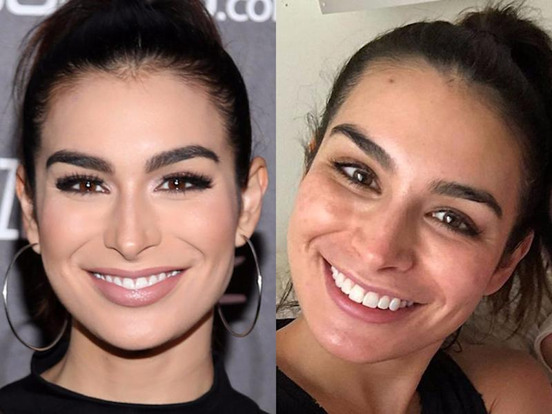 ashley iaconetti no makeup