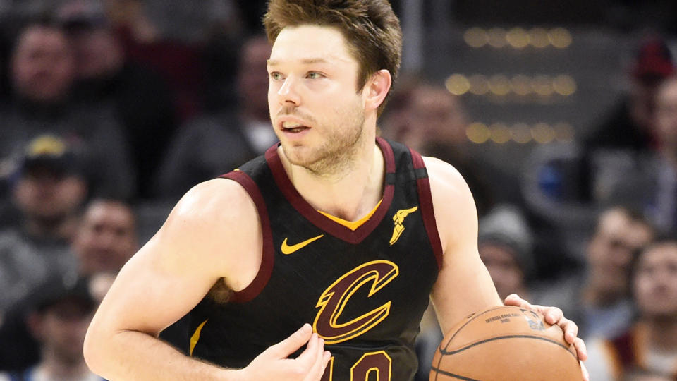 Aussie NBA star Matthew Dellavedova has rejected reports he is considering retirement after struggling to recover from a concussion. (Photo by Jason Miller/Getty Images)