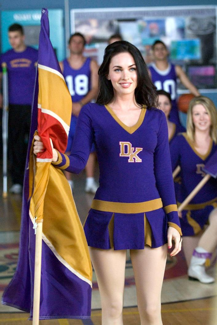 <p>She someone even made this cheerleader uniform look cool. </p>