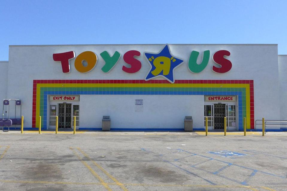 <p>I guess toys <em>weren't</em> us, because this beloved childhood store declared bankruptcy in 2018. What happened to the youth?!</p>
