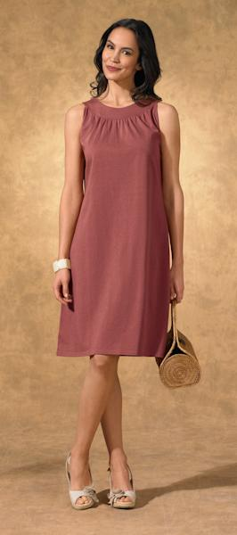 This undated product image provided by Fair Indigo shows one of the company's product. Fair Indigo is an online retailer that sells clothes and accessories that are certified by Fair Trade U.S.A., including $59.90 pima organic cotton dresses, $45.90 faux wrap skirts and $100 floral ballet flats. (AP Photo/Fair Indigo)