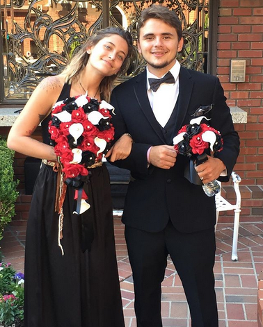 "<p>""It was an honor to be a part of @officialsiggyjackson wedding with my sis @parisjackson,"" the elder son of Michael Jackson posted. He and his model sister, Paris, were looking sharp at their cousin's wedding. Siggy is the son of their uncle Jackie Jackson, who was a member of the Jackson 5. (Photo: <a href=""https://www.instagram.com/p/BZb_b1Hg_f7/?taken-by=princejackson"" rel=""nofollow noopener"" target=""_blank"" data-ylk=""slk:Prince Jackson via Instagram"" class=""link rapid-noclick-resp"">Prince Jackson via Instagram</a>) </p>"