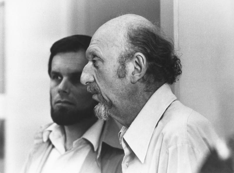 American director Irvin Kershner on the set of hsi movie Star Wars: Episode V - The Empire Strikes Back. (Photo by Lucasfilm/Sunset Boulevard/Corbis via Getty Images)