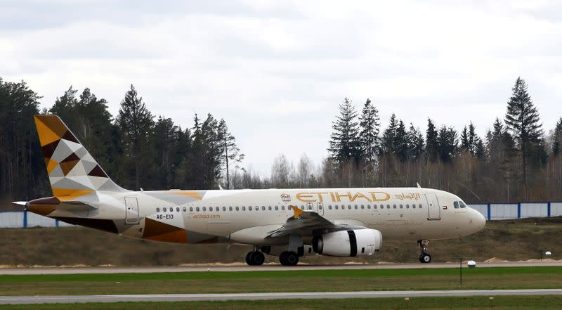 Abu Dhabi's Etihad extends suspension of scheduled flights to May 15