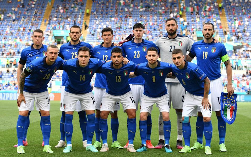 Italy side - Getty