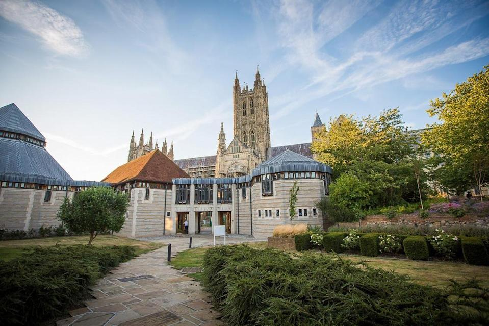 """<p>Did you know that you can sleep in the heart of the UNESCO World Heritage Site of the Canterbury Cathedral Precincts? Home to the incredible Canterbury Cathedral and the ruins of St Augustine's Abbey - the oldest church in the English-speaking world - there's also a comfortable and affordable hotel in the grounds to get you up close and personal. </p><p>A wonderfully unusual hotel to spend your nights in the city, the <a href=""""https://go.redirectingat.com?id=127X1599956&url=https%3A%2F%2Fwww.booking.com%2Fhotel%2Fgb%2Fcanterbury-cathedral-lodge.en-gb.html%3Faid%3D1922306%26label%3Dunusual-hotels-uk&sref=https%3A%2F%2Fwww.goodhousekeeping.com%2Fuk%2Flifestyle%2Ftravel%2Fg34667984%2Fquirky-unusual-hotels-uk%2F"""" rel=""""nofollow noopener"""" target=""""_blank"""" data-ylk=""""slk:Canterbury Cathedral Lodge"""" class=""""link rapid-noclick-resp"""">Canterbury Cathedral Lodge</a> offers cathedral views from most of the rooms and hearing the bells toll next door is rather magical. Set in the peaceful grounds of the cathedral, the quirky hotel is homely, with its spacious terrace and cosy library lounge.</p><p><a href=""""https://www.goodhousekeepingholidays.com/offers/kent-canterbury-cathedral-lodge-hotel"""" rel=""""nofollow noopener"""" target=""""_blank"""" data-ylk=""""slk:Read our review of Canterbury Cathedral Lodge."""" class=""""link rapid-noclick-resp"""">Read our review of Canterbury Cathedral Lodge.</a></p><p><a class=""""link rapid-noclick-resp"""" href=""""https://go.redirectingat.com?id=127X1599956&url=https%3A%2F%2Fwww.booking.com%2Fhotel%2Fgb%2Fcanterbury-cathedral-lodge.en-gb.html%3Faid%3D1922306%26label%3Dunusual-hotels-uk&sref=https%3A%2F%2Fwww.goodhousekeeping.com%2Fuk%2Flifestyle%2Ftravel%2Fg34667984%2Fquirky-unusual-hotels-uk%2F"""" rel=""""nofollow noopener"""" target=""""_blank"""" data-ylk=""""slk:CHECK AVAILABILITY"""">CHECK AVAILABILITY</a></p>"""