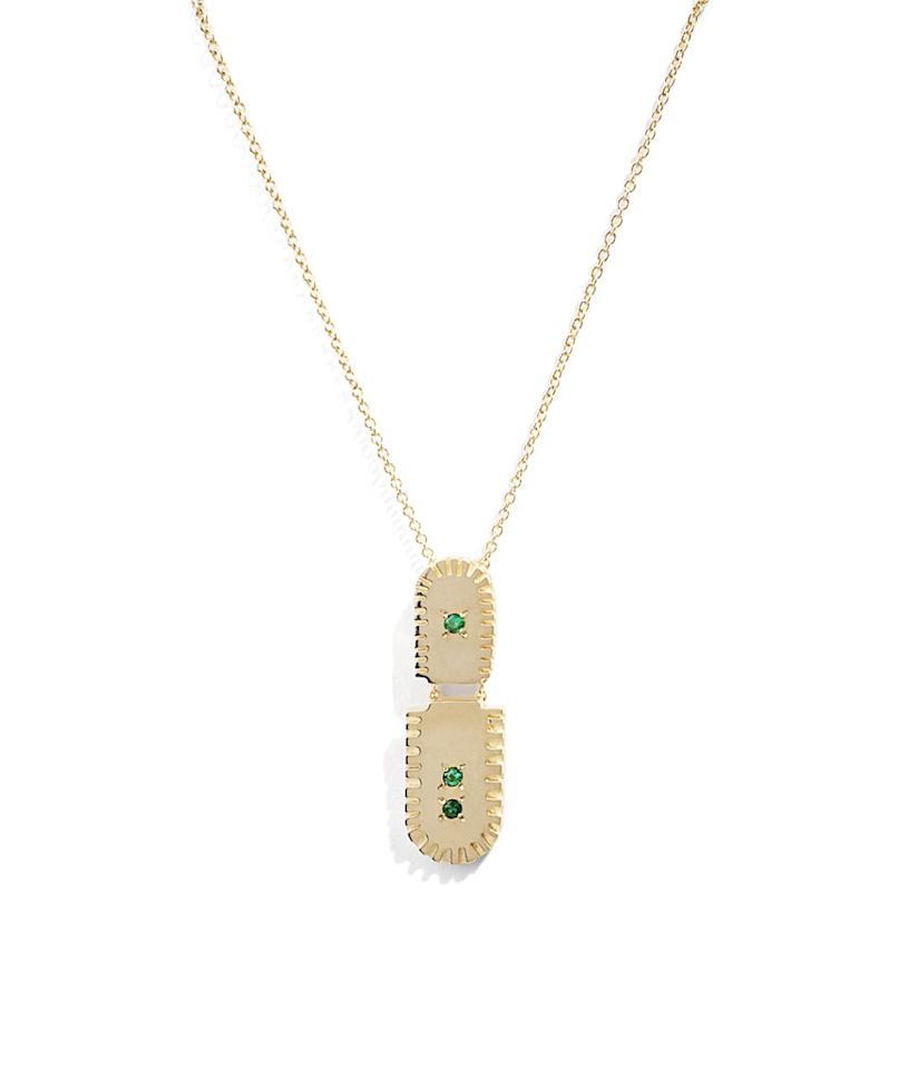 "<p>Ray pendant, $572.00, <a rel=""nofollow"" href=""http://bario-neal.com/jewelry/necklaces/ray-pendant"">barioneal.com</a> </p>"