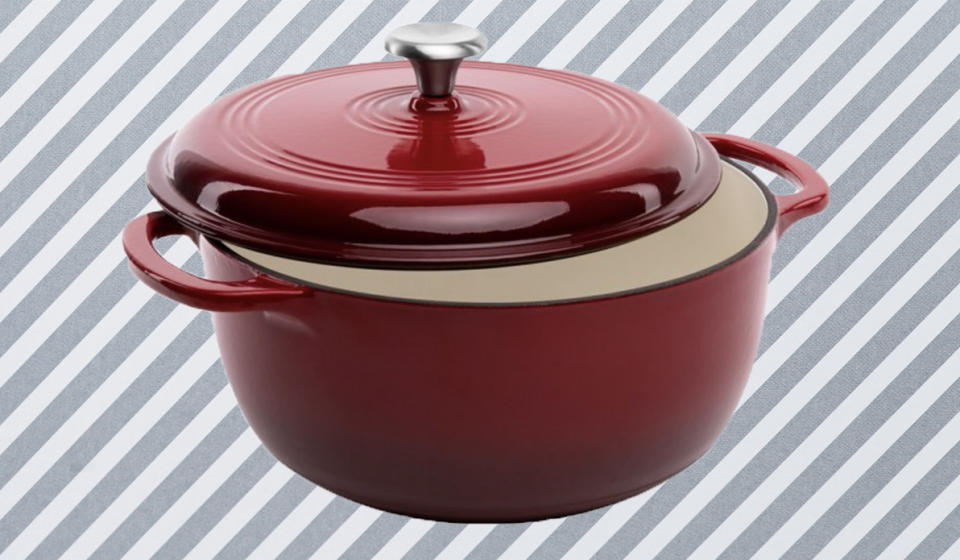 This cast-iron Dutch oven is about to make you fall in love with cooking again. (Photo: Walmart)