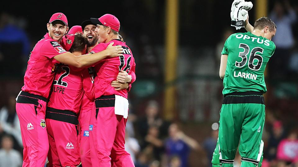 The Big Bash League is at the centre of a TV rights dispute between Channel 7 and Cricket Australia. (Photo by Mark Kolbe/Getty Images)