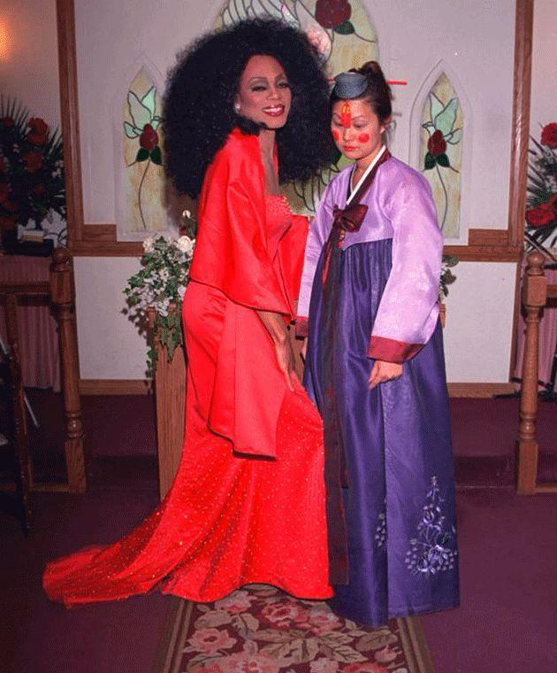 Marrying a Diana Ross impersonator. Photo: Maria Yoon