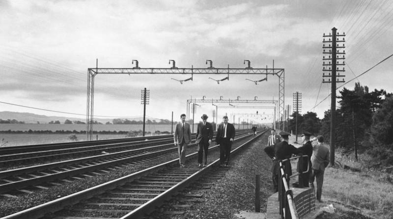 Scene of the Great Train Robbery