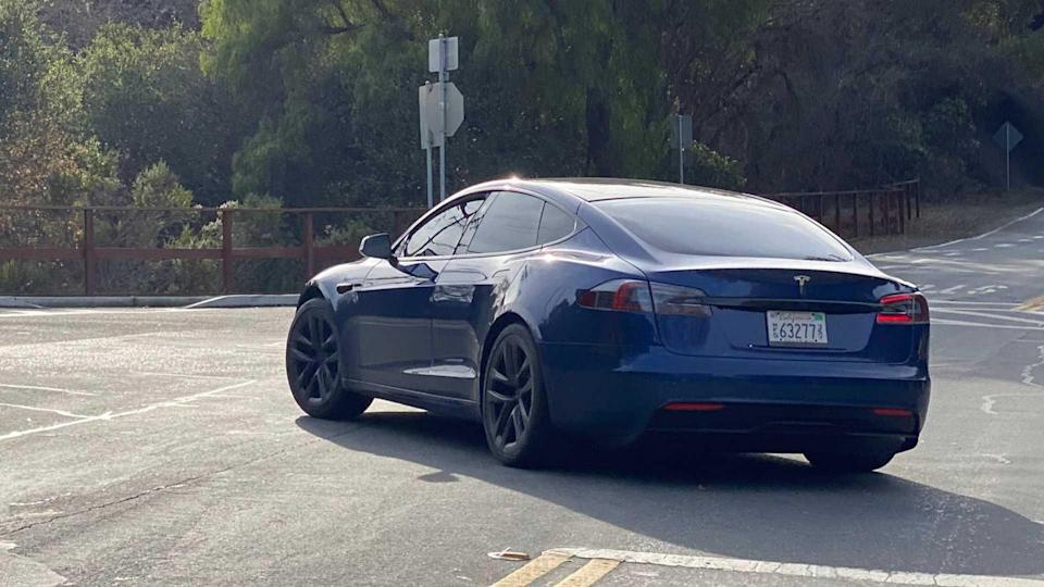 Model S Plaid prototype