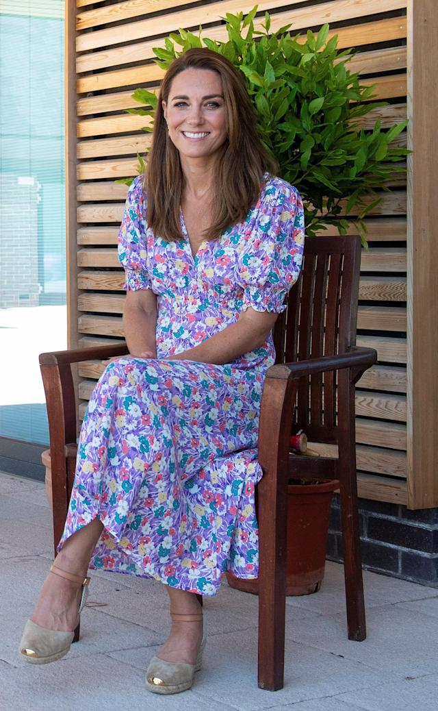 Kate Middleton wears the perfect floral summer dress in latest outing