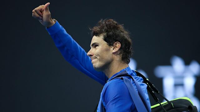 Rafael Nadal gave another demonstration of how he has returned to the top of the rankings by beating Karen Khachanov at the China Open.